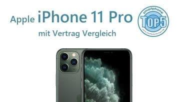 iPhone 11 Pro mit Vertrag Vergleich