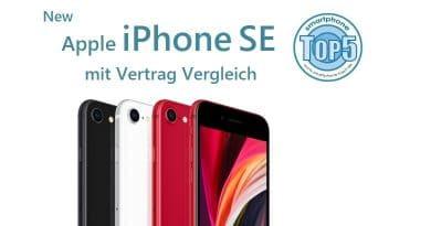 iPhone SE (2020) mit Vertrag Vergleich