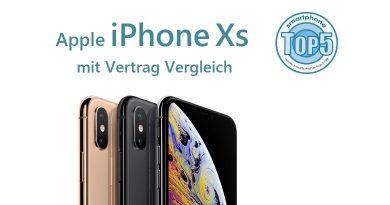 Apple iPhone XS mit Vertrag Vergleich