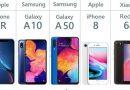 Smartphone TOP5 – Die meistverkauften Smartphones weltweit