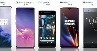 Smartphones mit dem besten LTE Empfang – TOP5